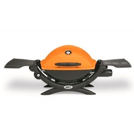 Barbacoa de gas Weber Q1200 ORANGE