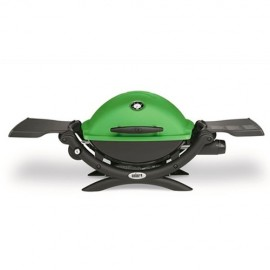 Barbacoa de gas Weber Q1200 GREEN