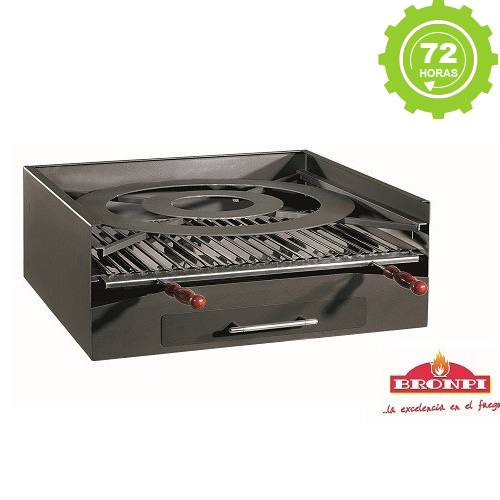 Barbacoa  de carbón Metalica BP-45 Bronpi