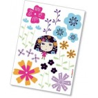 Sticker Komar Flowerine
