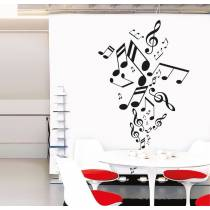 Sticker Myvinilo Musical Notes