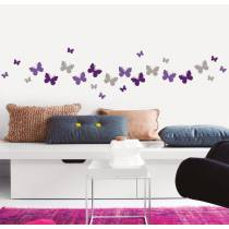 Sticker Myvinilo Color Butterflies