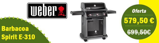 Barbacoa de gas Weber Spirit E-310
