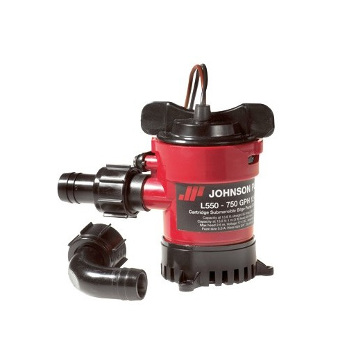 Bomba con cartucho JOHNSON 2400l/h