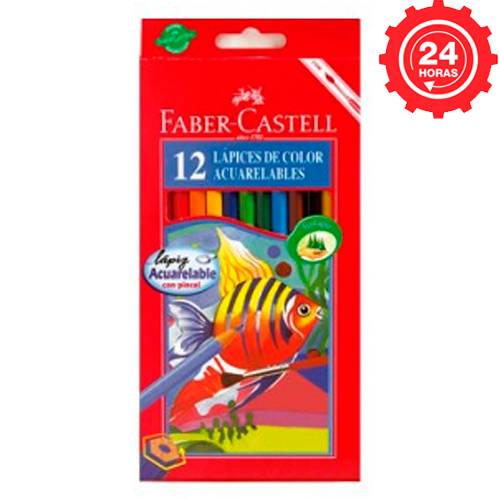 Faber-Castell 12 ecolapices acuarelables