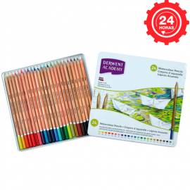 Derwent Academy Watercolour 24 Lápices Acuarelables