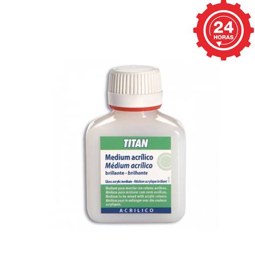 Titan Medium acrílico brillante 100 ml.