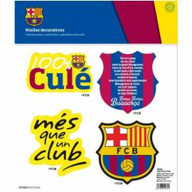 Vinilos decorativos My Vinilo FC Barcelona Fan Pack FCB