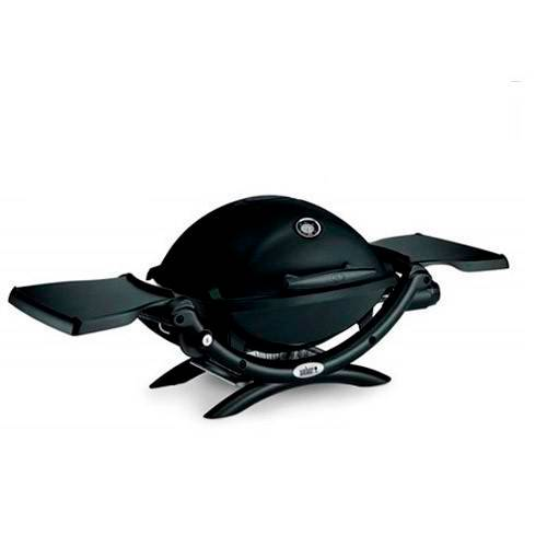 Barbacoa de gas Weber Q1200 BLACK