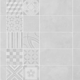 Grosfillex Element Mineral Pure White Mosaico (Caja 3,9 M2)