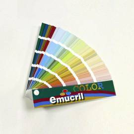 Carta de colores Mix Emucril