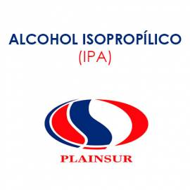 Alcohol isopropílico IPA Plainsur