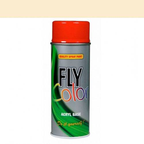 Fly ral 9010 mate 400 ml.