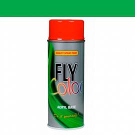 Spray de pintura Fly ral 6018 brillo 400 ml.