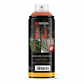 Imprimacion antioxidante roja en spray Montana Colors 400 ml.