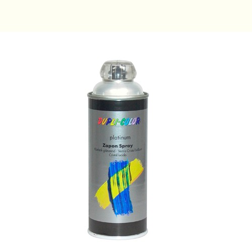 Deco-spray Platinium ral 9010 400 ml.