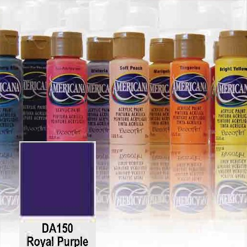 Pintura acrílica mate Decoart La Americana - MORADO REAL (ROYAL PURPLE) DA150