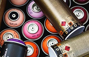 Pinturas en spray Montana Cans Gold