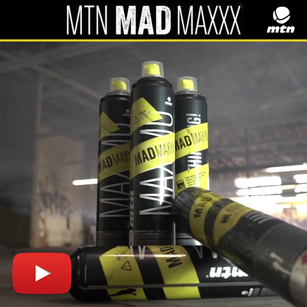 Montana colors MTN MAD MAXXX pintura en spray para graffitis